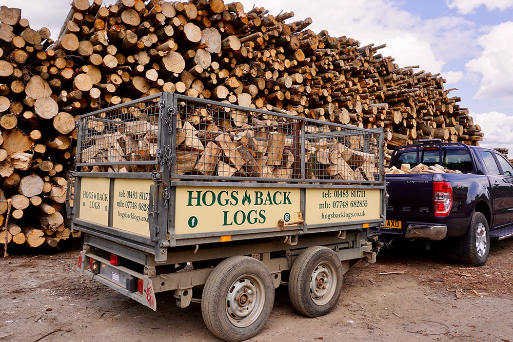 Hogs Back Logs Deliveries